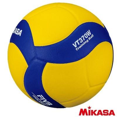 ミカサ バレーボール 5号球 トレーニングボール 370g VT370W バレーボール用品