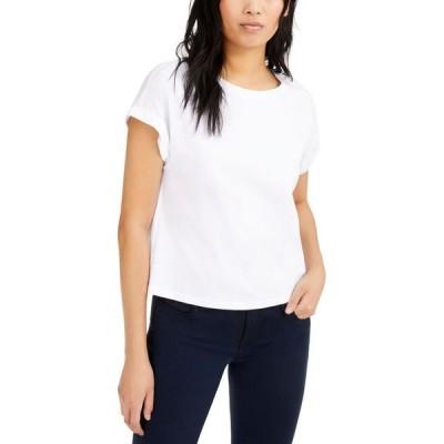アイエヌシーインターナショナルコンセプト レディース Tシャツ トップス INC Boxy Crewneck T-Shirt