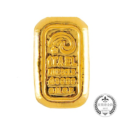 童樂繪金飾 1台兩幸運星luckystar金條金重37.5公克