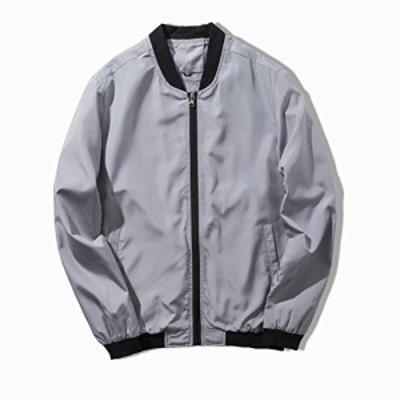 【送料無料】KMAZN メンズ ジャケット 防風 薄手 長袖 ブルゾン カジュアル ストリート アウター おしゃれ 春 秋