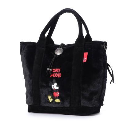 ルートート ROOTOTEディズニー  Disney トートバッグ SY デリ ファ-ミッキ-A 4992(BLACK)