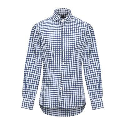 FRADI シャツ ブライトブルー 39 コットン 100% シャツ