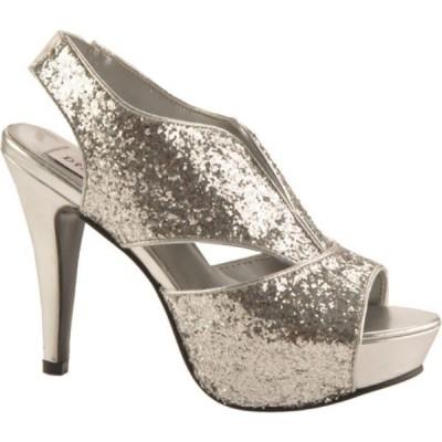ダイエイブルズ レディース ローファー・オックスフォード シューズ・靴 Kat Silver Glitter