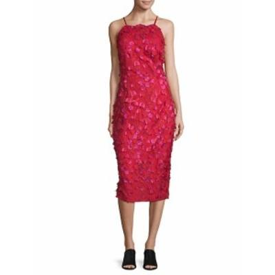 カーメンマークバルボインフュージョン レディース ワンピース Embroidered Floral Dress