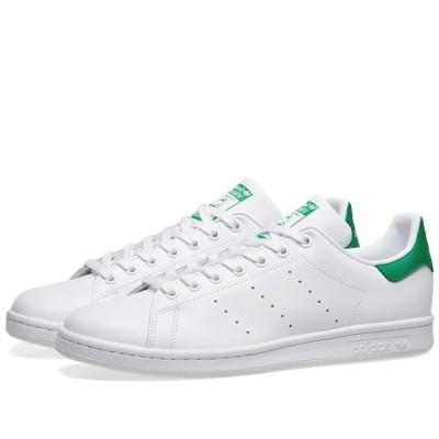 アディダス Adidas メンズ スニーカー シューズ・靴 Stan Smith Running White/Fairway