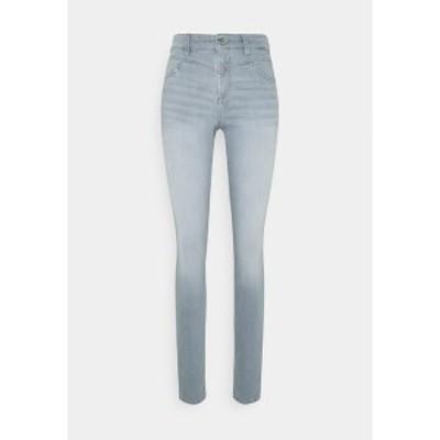 エスオリバー レディース デニムパンツ ボトムス Jeans Skinny Fit - grey stret grey stret