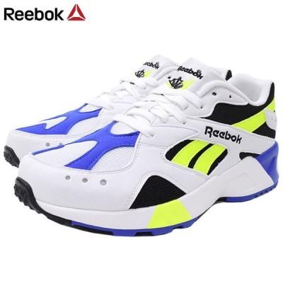リーボック スニーカー Reebok メンズ 男性用 アズトレック OG White/Black/Cobalt/Yellow(reebok AZTREK OG ダッドシューズ CN7840)