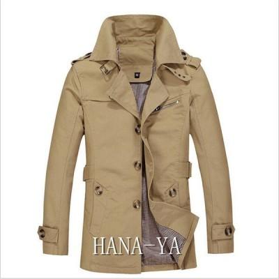 メンズジャケット メンズファション 2019 春秋服 メンズ ビジネスコート ジャケット 格好いい ミディアム 薄手 紳士服 5色 M?5XL