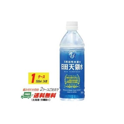 活性水素水 日田天領水 500ml×24本   1ケース (2ケースで地域限定送料無料)