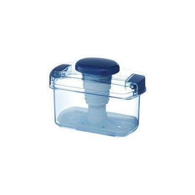 〔18個セット〕 簡易漬物器/漬物容器 〔容量840ml〕 ハンドル式 ワンタッチロック式 ハイペット 〔キッチン 台所〕
