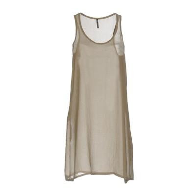 リビアナ コンティ LIVIANA CONTI ミニワンピース&ドレス グレー 42 ポリエステル 100% ミニワンピース&ドレス