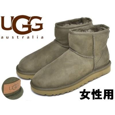 UGGアグ レディース ムートンブーツ クラシック ミニ II UGG 01-12623405