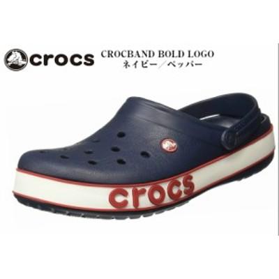 crocs (クロックス)CROCBAND BOLD LOGO CLOG クロックバンド ボールドロゴ クロッグ 206021 ビッグロゴデザインが登場 メンズ レディス