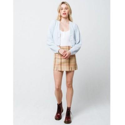 スカイアンドスパロウ SKY AND SPARROW レディース ミニスカート スカート Plaid Mini Skirt MULTI