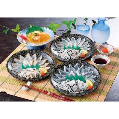 【お中元】 <関とら本店>食べ比べふく刺身セット FST-3Z うなぎ・干物・海産物