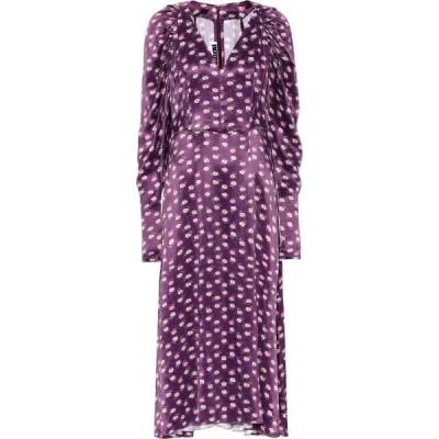 ローテート ROTATE BIRGER CHRISTENSEN レディース ワンピース ミドル丈 ワンピース・ドレス Clair floral midi dress Pansy Aop