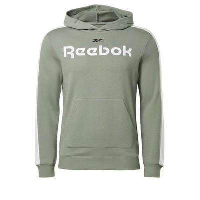 リーボック シャツ メンズ トップス Training Essentials Linear Logo Hoodie male