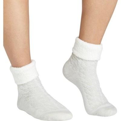 フィールドアンドストリーム 靴下 アンダーウェア レディース Field & Stream Women's Cozy Cabin Cable Fold Socks Grey