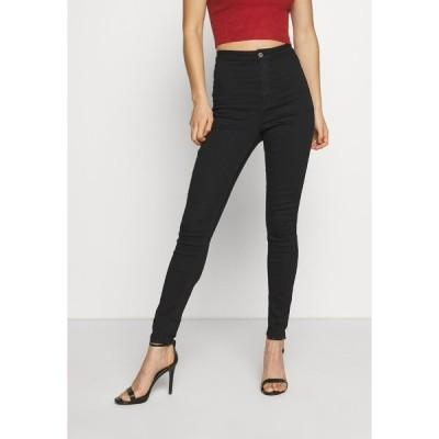 ミスガイデッド デニムパンツ レディース ボトムス VICE HIGH WAISTED - Jeans Skinny Fit - black