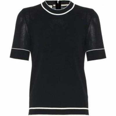 グッチ Gucci レディース ニット・セーター トップス knit top Black/Ivory