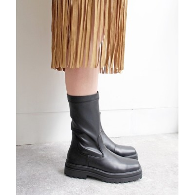 あしながおじさん / 厚底ストレッチブーツ -8710379 WOMEN シューズ > ブーツ