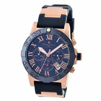 [サルバトーレ・マーラ] Salvatore Marra SM18118-PGBL メンズ 腕時計 [並行(中古品)
