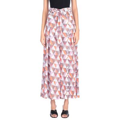 KOR@KOR ロングスカート オレンジ 42 ポリエステル 100% ロングスカート