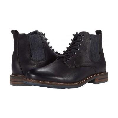 Steve Madden スティーブマデン メンズ 男性用 シューズ 靴 ブーツ レースアップ 編み上げ Ballot Lace-Up Boot - Black