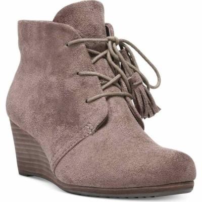 ドクター ショール Dr. Scholl's レディース ブーツ ブーティー ウェッジソール シューズ・靴 Dakota Wedge Booties Stucco