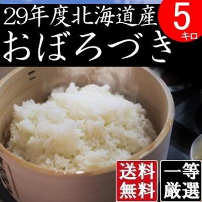 米 5キロ 送料無料 安い おぼろづき 北海道産 お米  5kg 安い 白米 北海道米 検査一等米