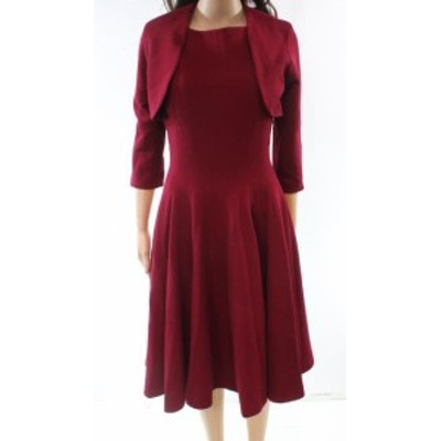 America  ファッション ドレス B Michael America Red Collection NEW Red Dress Womens Size 10 Shift