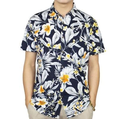 アロハシャツ メンズ  半袖 ハワイアンシャツ 大きいサイズ  オシャレ b系 ストリート系 人気  トレンド 花柄 開襟 夏 ビーチ カジュアル 旅游