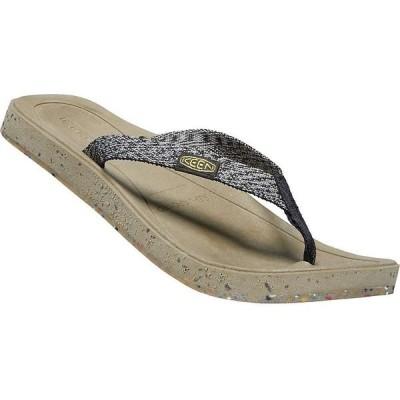 キーン Keen レディース ビーチサンダル トングサンダル シューズ・靴 KEEN Harvest Flip Flop Thong Sandals with Recycled Straps Black/Multicolor