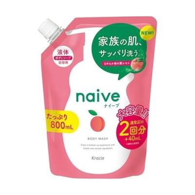 ナイーブ ボディソープ 桃の葉エキス配合 詰替用 ( 800ml )/ ナイーブ