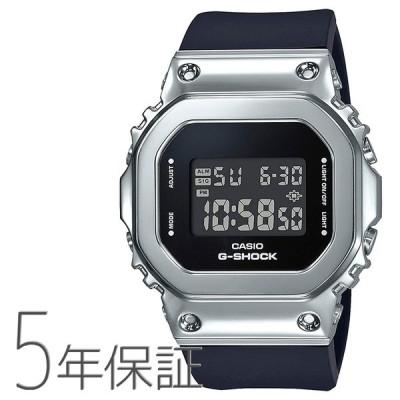 G-SHOCK Gショック GM-S5600-1JF CASIO カシオ デジタル メタルベゼル ブラック 黒 シルバー 腕時計 メンズ