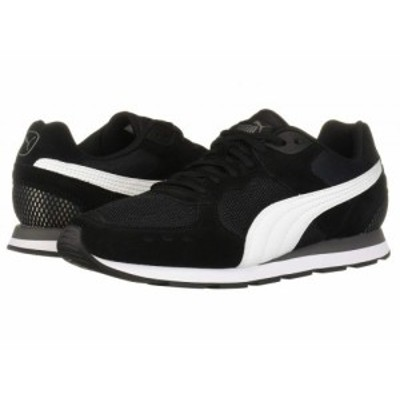 PUMA プーマ メンズ 男性用 シューズ 靴 スニーカー 運動靴 Vista Puma Black/Puma White/Charcoal Gray【送料無料】