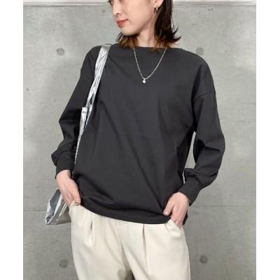 tシャツ Tシャツ 裾タック長袖プルオーバーカットソー