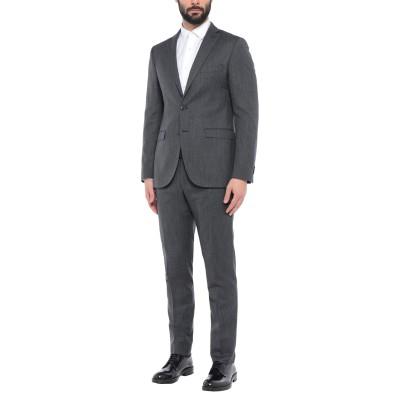 OXON スーツ 鉛色 54 スーパー130 ウール 100% スーツ