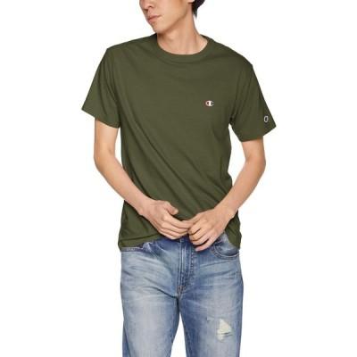 [チャンピオン] BASIC Tシャツ C3-P300 メンズ ダークグリーン 日本 S (日本サイズS相当)