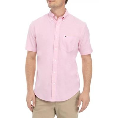 クラウン&アイビー シャツ トップス メンズ Short Sleeve Woven Shirt  -