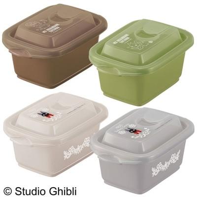 ベルーナインテリア お弁当箱にもなる保存容器ジブリ2個セット 茶/緑 Sサイズ2個セット レディース