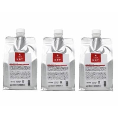 【エルコス】 Eセラップ KPT 1000mL ( 詰替用 ・ リフィル ) 3個セット コラーゲン ダメージケア  トリートメント サロン専売品 送料無料