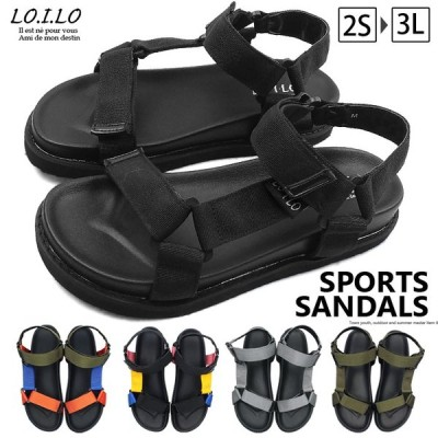 LO.I.LO-ロイロ- 機能性とデザイン性を兼ね備えた夏の定番!ベルクロデザインのスポーツサンダル