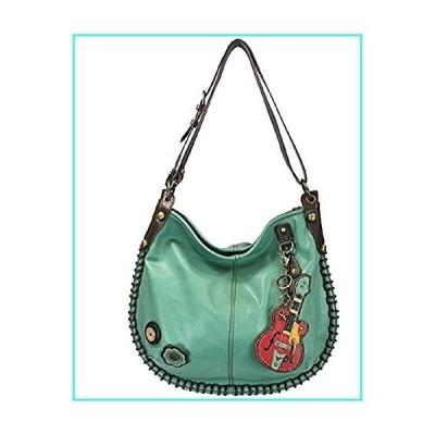 【新品】Chala Purse Handbag Hobo Cross Body Convertible Teal Guitar Bag(並行輸入品)