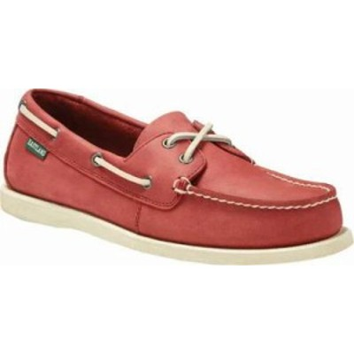 Eastland メンズシューズ Eastland Seaquest Boat Shoe Red Leather