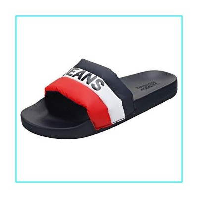 Tommy Jeans Padded Pool Womens Slide Sandals in Red White Blue - 8.5 US