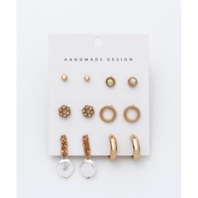 wears / ピアス 6セット / pierce 6 set WOMEN アクセサリー > ピアス(両耳用)