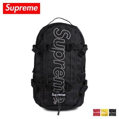 シュプリーム Supreme リュック バッグ バックパック メンズ レディース 24L BACKPACK ブラック レッド イエロー
