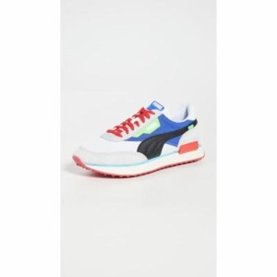 プーマ PUMA Select メンズ スニーカー シューズ・靴 Rider Ride On Sneakers Puma White/Dazzling Blue/High