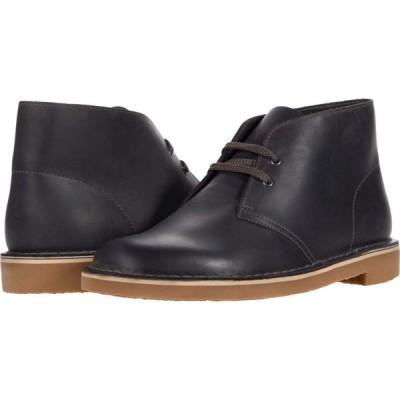 クラークス Clarks メンズ シューズ・靴 Bushacre 3 Grey Leather